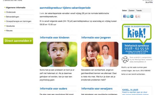 Logo, huisstijl en website praktijk