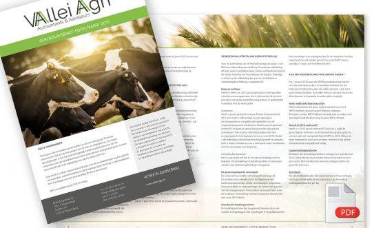 PDF template Nieuwsbrief