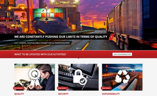 Website met werknemers portal