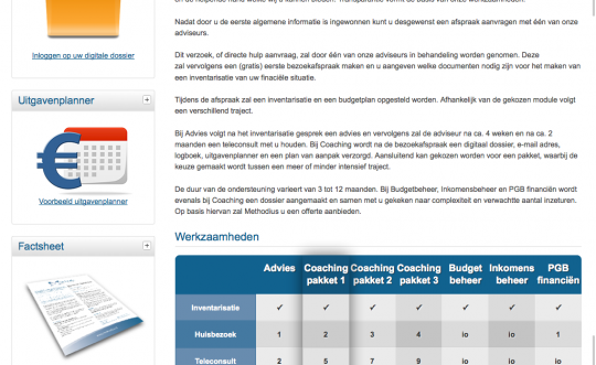 Website met CMS